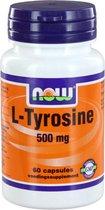 Now L-Tyrosine 500 mg Capsules 60 st