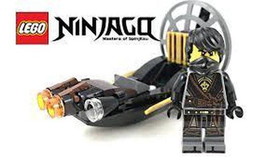 LEGO NINJAGO Stealthy Swamp Airboat polybag - zakje 30426