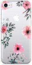 iPhone 7 Hoesje Flowers