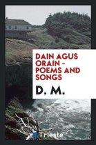 Dain Agus Orain - Poems and Songs
