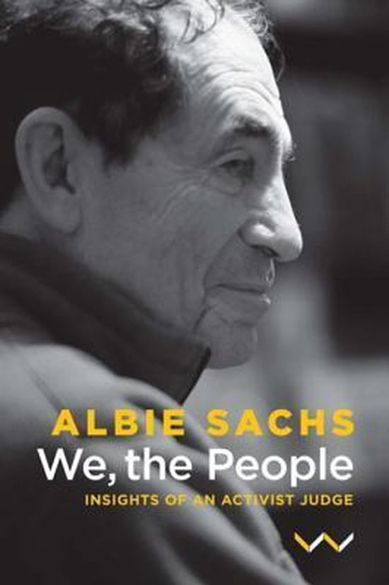 Boek cover We, the People van Albie Sachs