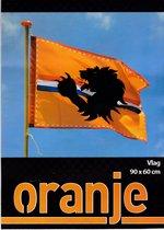 Gevelvlag Oranje 90 x 60 cm - Koningsdag - EK voetbal - Formule 1