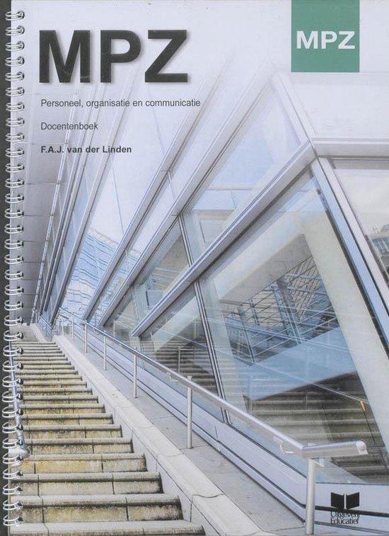 MPZ Personeel, organisatie en communicatie Docentenhandboek - F.A.J. van der Linden pdf epub