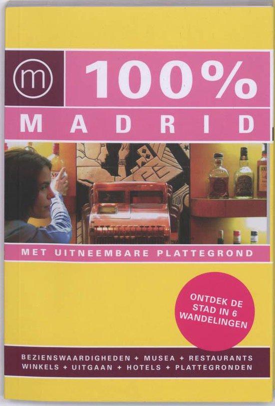 Cover van het boek '100% Madrid' van B. Skrzypczak en Tessa Groot