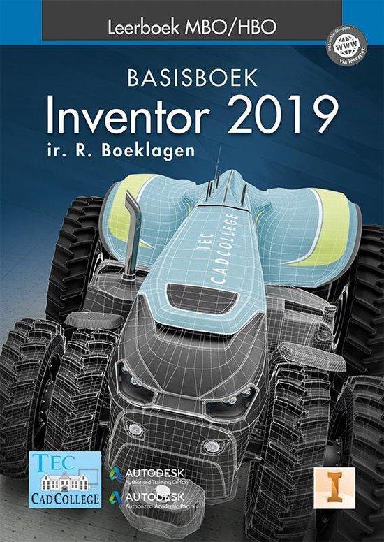 Inventor 2019 Leerboek MBO/HBO Basisboek - Ronald Boeklagen |