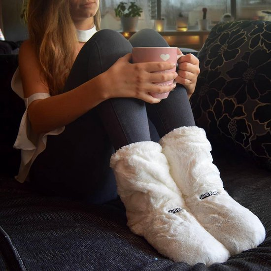 MikaMax Hot Boots - Magnetron Sloffen - Magnetron Laarzen - Verwarmde Sloffen - Wit