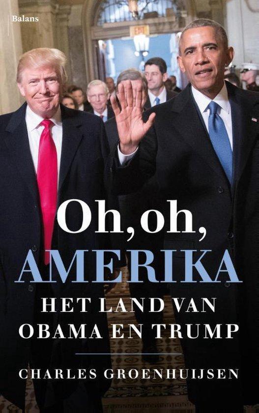 Boek cover Oh, oh, Amerika van Charles Groenhuijsen (Paperback)