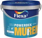 Flexa Powerdek Muurverf - 10 liter - Muren & Plafonds - 9010
