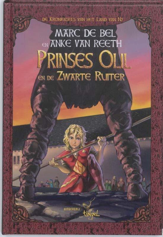 Cover van het boek 'Prinses Olil en de zwarte ridder'