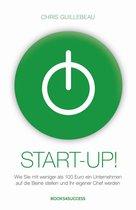 Boek cover Start-up! van Chris Guillebeau