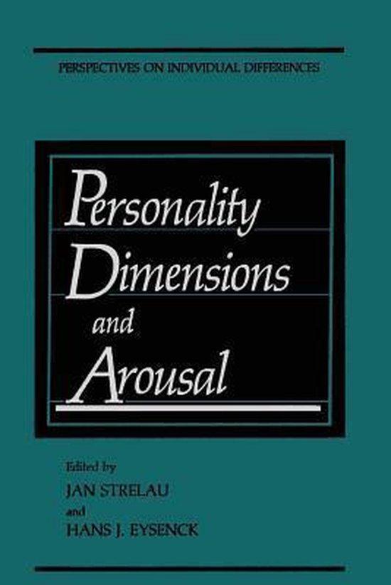 Boek cover Personality Dimensions and Arousal van  (Paperback)