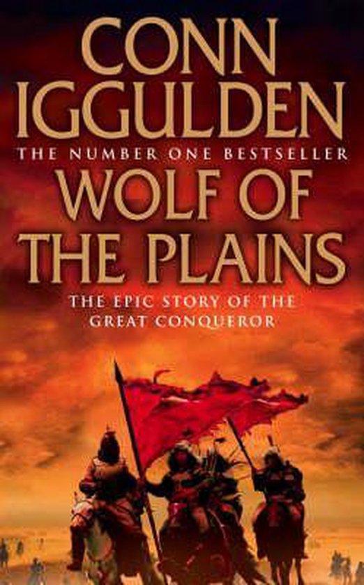 Boek cover Wolf of the Plains (Conqueror, Book 1) van Conn Iggulden (Paperback)