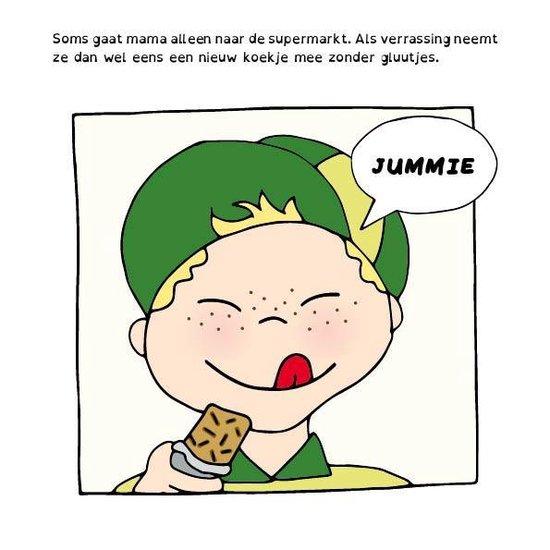 Teuntje mag geen gluutjes - uitleg voor kinderen met een glutenintolerantie