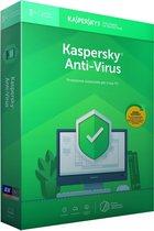 Kaspersky Anti-Virus 2019 - 3 Apparaten - 1 Jaar - Nederlands / Frans - Windows Download
