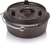 Petromax gietijzeren dutch oven / vuurpot zonder poten/ft 3