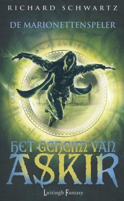 Cover van het boek 'De marionettenspeler / 4' van Richard Schwartz