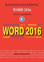 Basishandleiding Word 2016