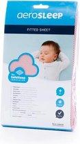 AeroSleep® SafeSleep hoeslaken - bed - 120 x 60 cm - roze