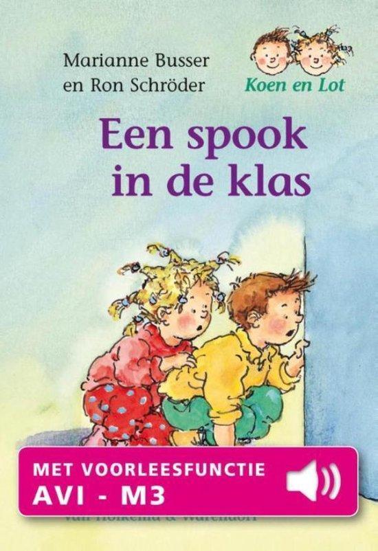 Een spook in de klas - Marianne Busser |
