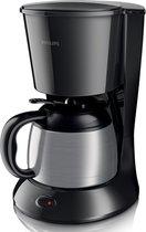 Philips Daily HD7474/20 - Koffiezetapparaat - Zwart/zilver