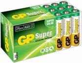 GP AAA Super Alkaline Batterijen - 24 stuks