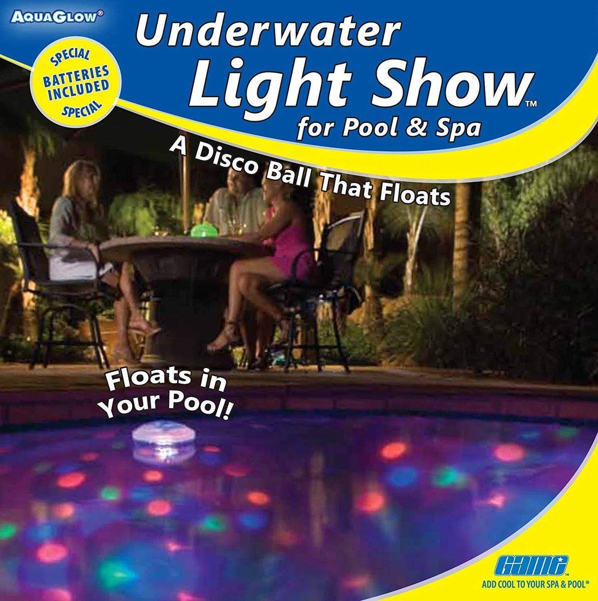 Luxe Interline Onderwater Licht show - zwembad disco verlichting - zwembadverlichting - discolamp