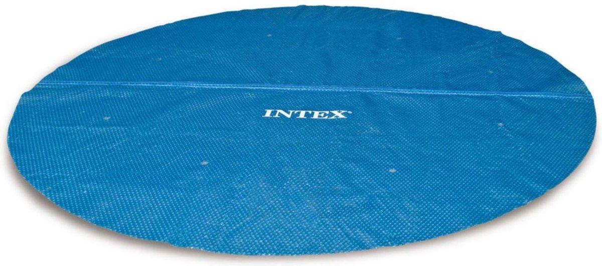 Intex Solar Cover - Voor easy Set & Rond Frame zwembaden - 244 cm - Met reparatiesetje