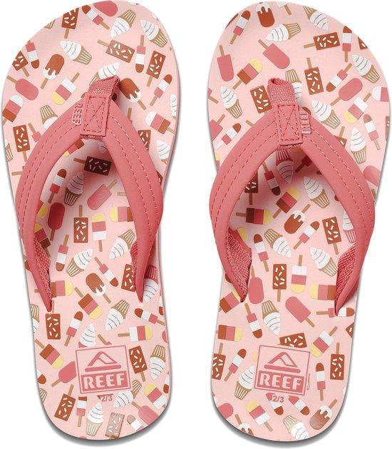 Reef Kids Ahi Meisjes Slippers - Ice Cream Truck - Maat 31.32
