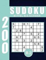 Sudoku Erwachsene Mittel Bis Schwer Band 2