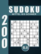 Sudoku Erwachsene Mittel Bis Schwer Band 8
