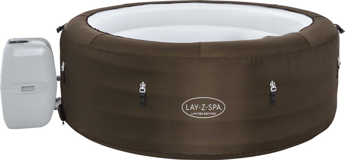 Lay-Z- Spa Jacuzzi whirlpool 196 cm doorsnede met extra bekerhouder en thermometer