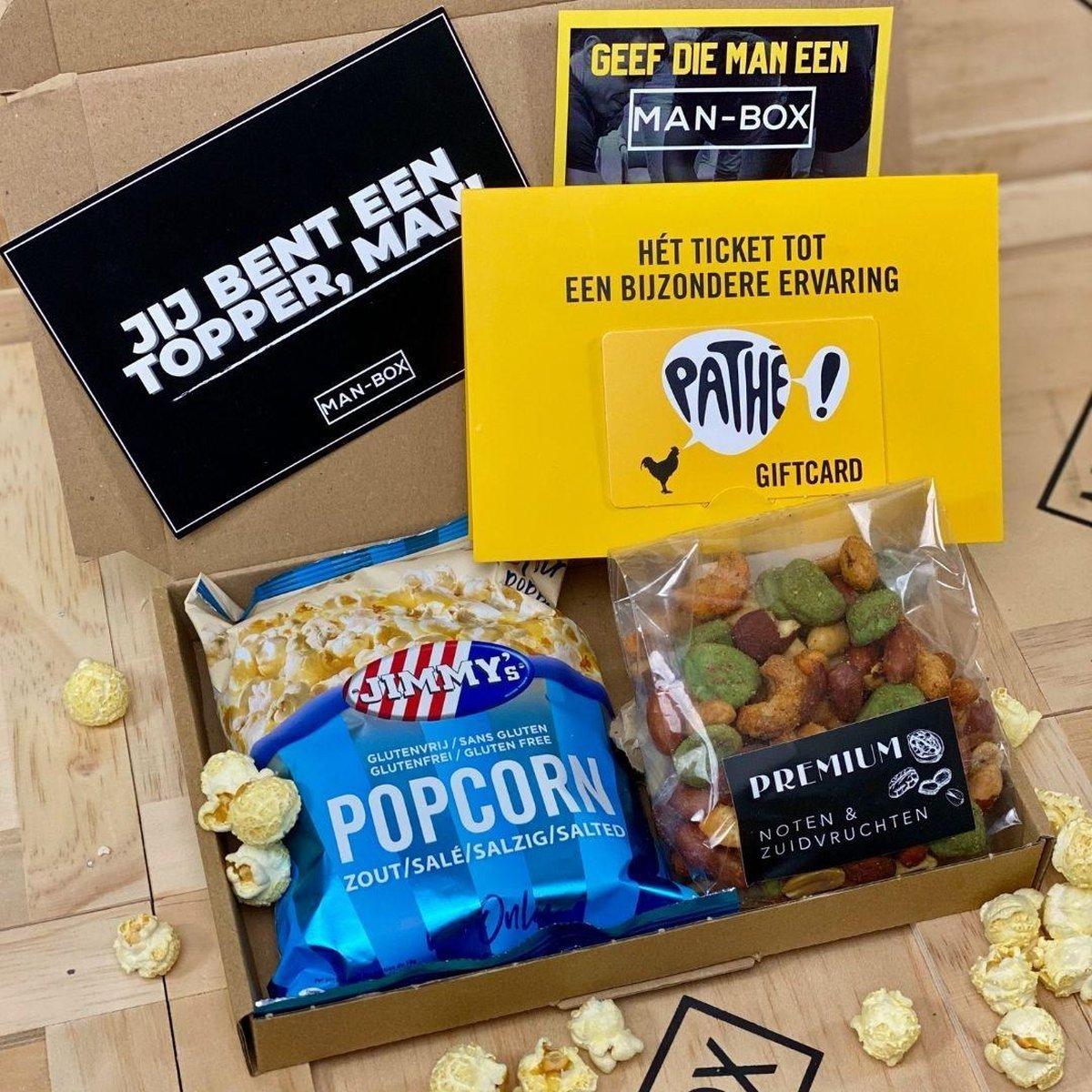 Man-Box Boxsy Film brievenbus cadeau
