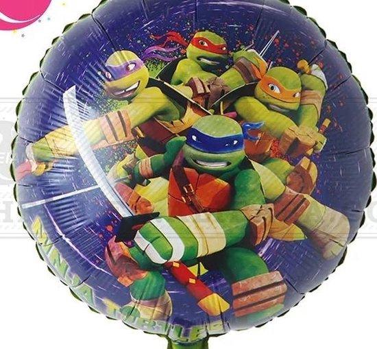 Folieballon Ninja Turtle, 40cm kindercrea