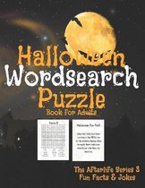 Halloween Word Search Puzzle For Adults