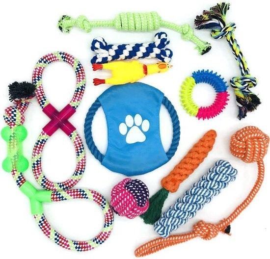 GOLDENDEALER™ - 12-delige Honden Speelgoed Set – Honden Speelgoed...