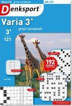 Denksport puzzelboek Groot Variaboek 3* editie 121