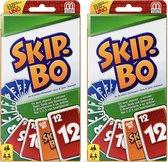 2 + 1 GRATIS Skip Bo Kaartspel - Het Spannende Kaartspel voor de hele Familie