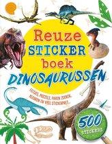 Reuzestickerboeken  -   Reuzestickerboek Dinosaurussen