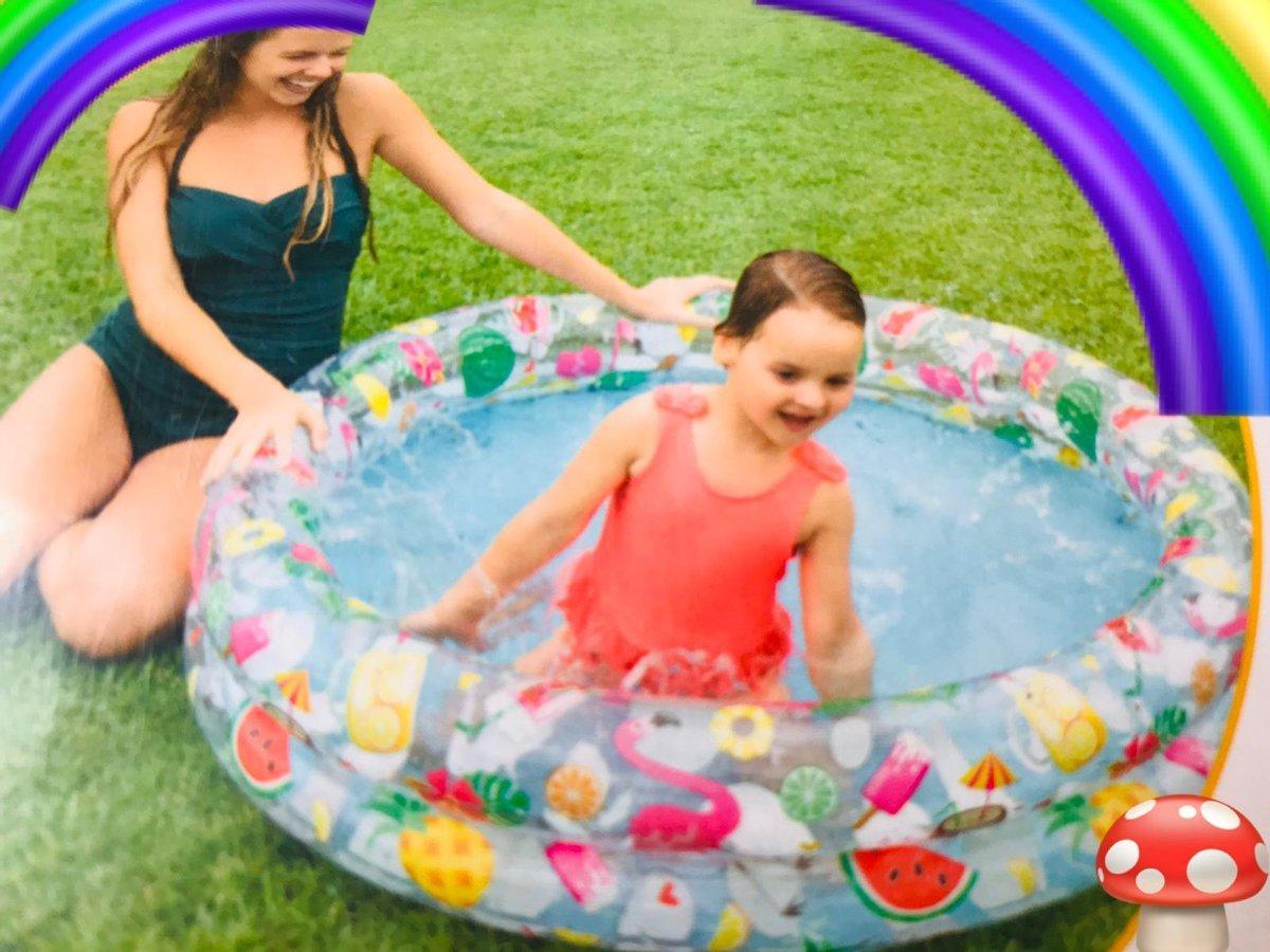 Zwembad voor Kinderen, baby , Peuter , kids-Leuk voor tuin, balkon of terras- 122cm X 25cm