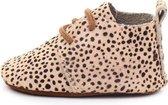 States&Klein - Taylor Stappers - Babyschoentjes - Luipaard Schoentjes - Babyslofjes - Slofjes - Baby 12 - 18 Maanden - Cheetah