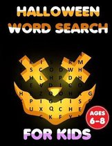 Halloween Word Search For Kids Ages 6-8