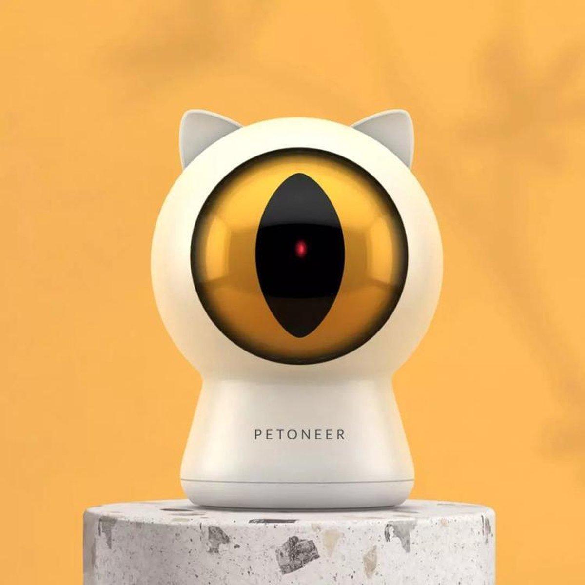Petoneer - Kattenspeeltjes - Kattenspeeltjes intelligentie - Laser - USB - Smart Dot