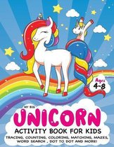 My Big Unicorn Activity Book for Kids Ages 4-8