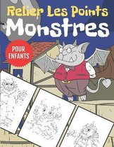 Monstres Relier Les Points Pour Enfants