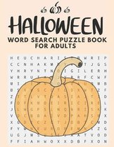 Halloween Word Search Puzzle Book For Adults