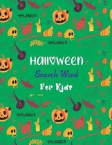 Halloween Search Word For Kids