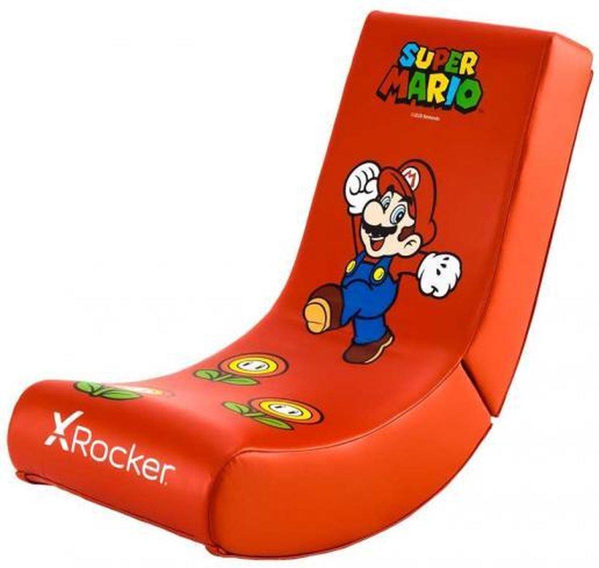 X Rocker Nintendo Video Rocker - Super Mario AllStar Collectie - Mario Gaming Stoel