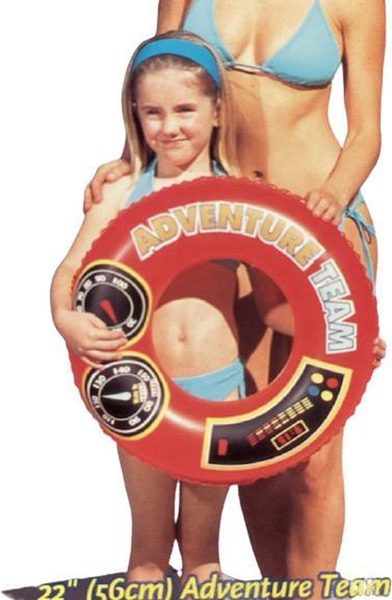 Bestway Rode Zwemband Adventure Team voor 3-6 jaar 22'' (56 cm)