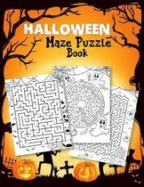 Halloween Maze Puzzle Book