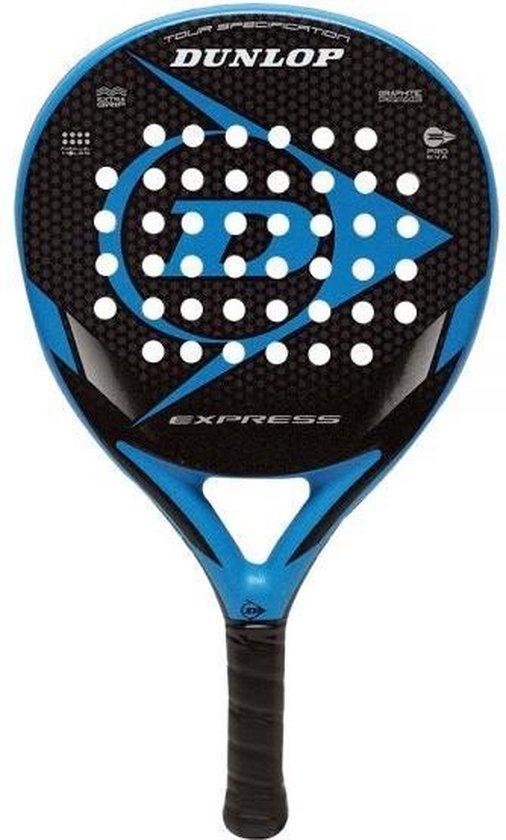 Dunlop Express Blue 2021 Padel Racket - Blauw - Spin Blade